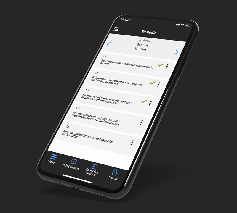 The Inspection Manager app